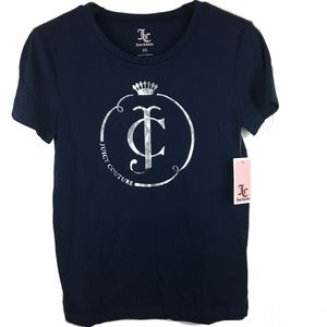 New Juicy Couture XS tee-shirt Monogram Graphic